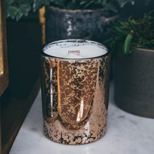 Small Electroplated Copper Glass